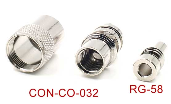 UHFPL-259 Male Solder Coax Connector With Reducer for 50ohm Low Loss RG-58 RF Cable.jpg