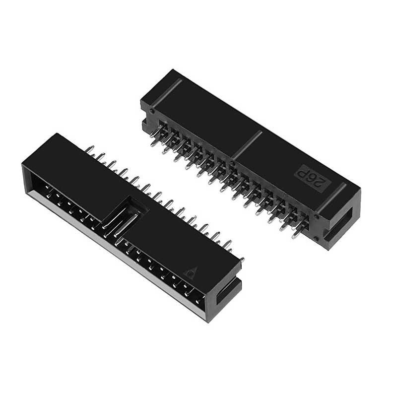 2x13 Pins 2.54mm Pitch Straight Connector Pin IDC Box Headers